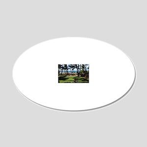 Maui Serenity 20x12 Oval Wall Decal
