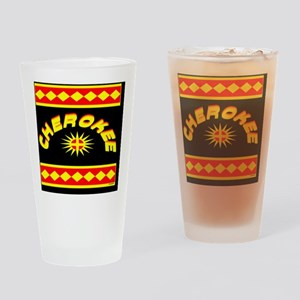 CHEROKEE INDIAN Drinking Glass