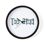Top Stud Wall Clock