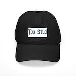 Top Stud Black Cap
