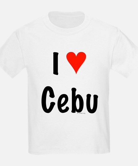 I love Cebu Kids T-Shirt
