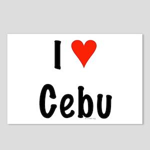 I love Cebu Postcards (Package of 8)