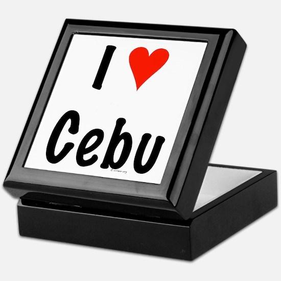 I love Cebu Keepsake Box