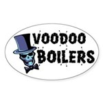 Voodoo Boilers Oval Sticker