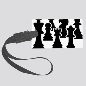 Chessmen Large Luggage Tag
