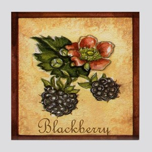 Blackberry Tile Coaster