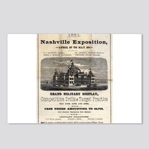 Nashville Exposition 1881 Postcards (Package of 8)