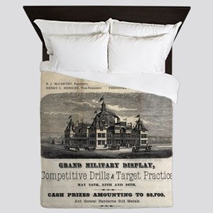 Nashville Exposition 1881 Queen Duvet