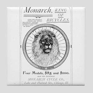 Monarch_bicycle_advertisement_1895 Tile Coaster