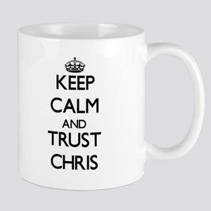 Keep Calm and TRUST Chris Mugs