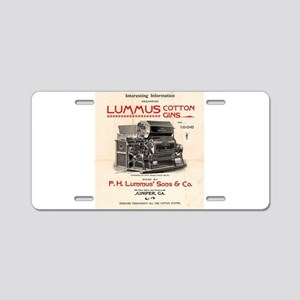 Lummus_Cotton_Gin_Advertisement 1896 Aluminum Lice