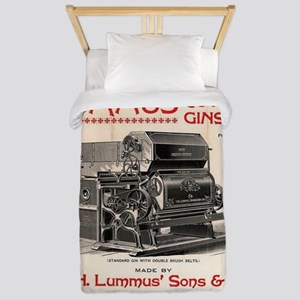 Lummus_Cotton_Gin_Advertisement 1896 Twin Duvet Co