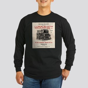 Lummus_Cotton_Gin_Advertisement 1896 Long Sleeve T