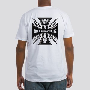 WEST COAST MUSCLE Fitted T-Shirt