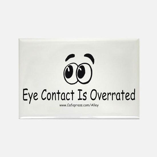Eye Contact Rectangle Magnet