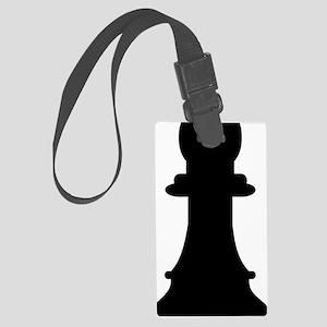 Chess bishop Large Luggage Tag