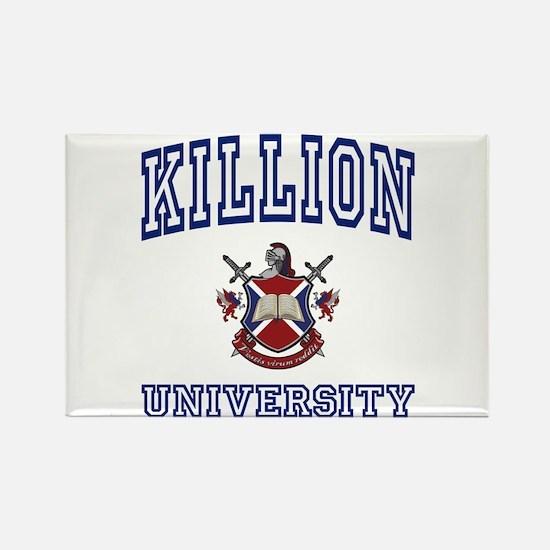 KILLION University Rectangle Magnet