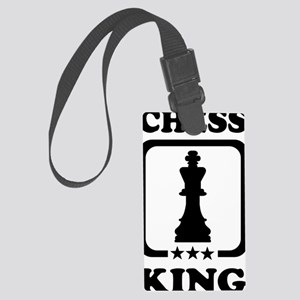 Chess king Large Luggage Tag