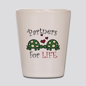 Partners For Life Shot Glass