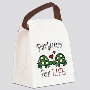 Partners For Life Canvas Lunch Bag