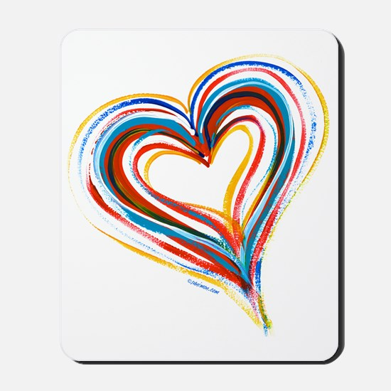 heart4cp Mousepad