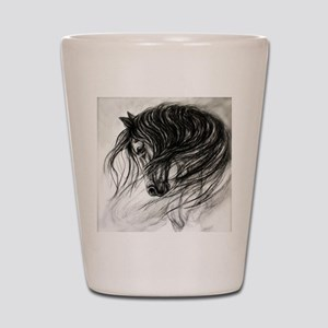 Mane Dance art Shot Glass