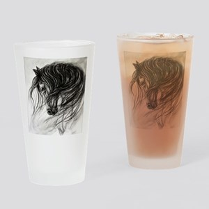 Mane Dance art Drinking Glass