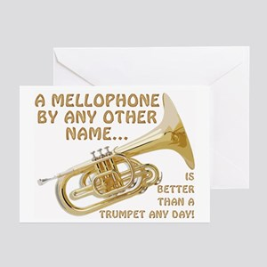 A Mellophone By Any Other Name Greeting Cards (Pk