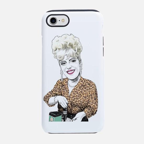 Bet Lynch Gilroy Coronation St iPhone 7 Tough Case