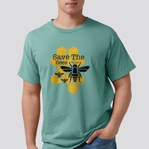Honeycomb Save The Bees Mens Comfort Colors Shirt