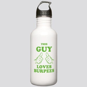This Guy Loves Burpees Stainless Water Bottle 1.0L