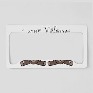 Forever Valentines License Plate Holder