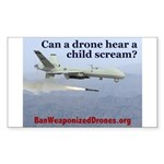 Ban Weaponized Drones 1 Sticker