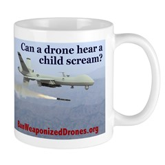 Ban Weaponized Drones 1 Mugs