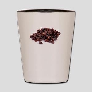 Recipe For Disaster Raisins Shot Glass