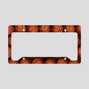 Basketball Balls License Plate Holder