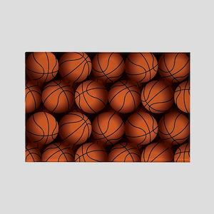 Basketball Balls Magnets