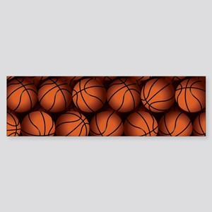 Basketball Balls Bumper Sticker