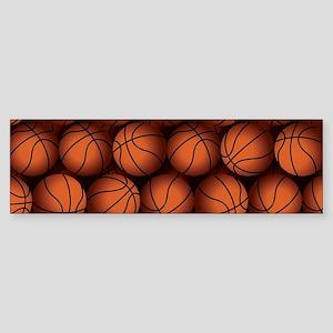 Basketball Balls Bumper Sticker