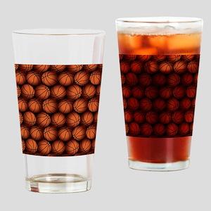 Basketball Balls Drinking Glass