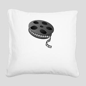Speak Movie Quotes Square Canvas Pillow