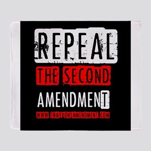 Repeal the Second Amendment Throw Blanket
