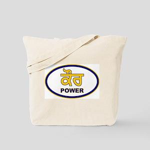 Kaur Power 2 Tote Bag