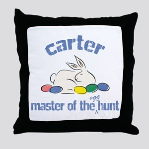 Easter Egg Hunt - Carter Throw Pillow