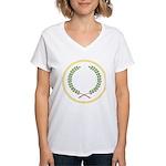 Order of the Laurel Women's V-Neck T-Shirt