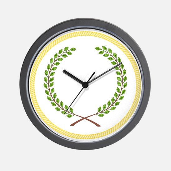 Order of the Laurel Wall Clock