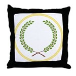 Order of the Laurel Throw Pillow