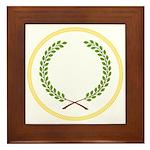 Order of the Laurel Framed Tile