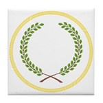 Order of the Laurel Tile Coaster