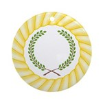 Order of the Laurel Ornament (Round)